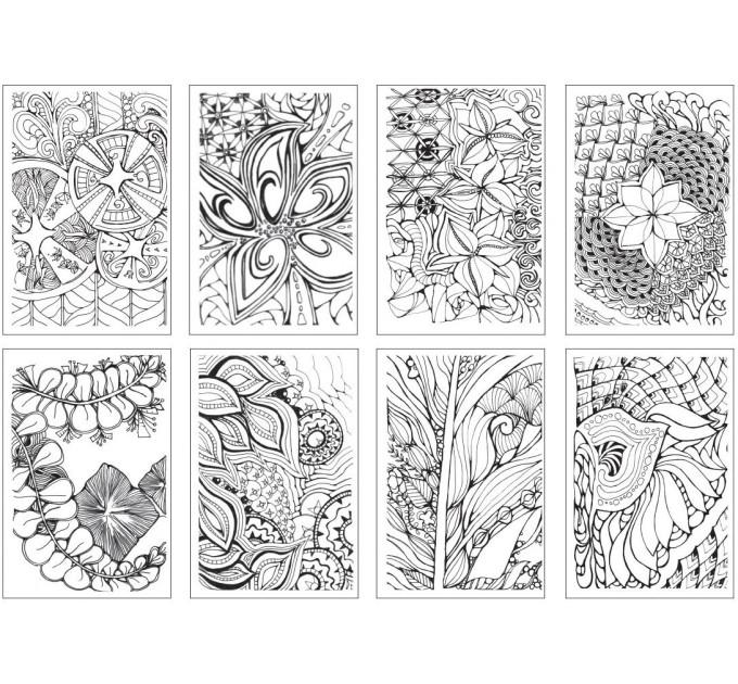 Раскраска Chameleon Color Cards Zen CC0103