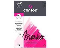 Альбом для маркеров А3 CANSON MARKER 70г/кв.м (белая, экстра гладкая) 70 листов