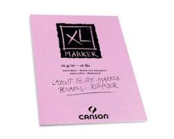 Альбом для маркеров А3 CANSON XL Marker 70 г/кв.м 100 листов