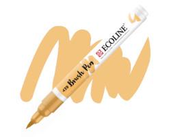 Ручка-кисть акварельная Ecoline Brush pen, № 439 Сепия светлая