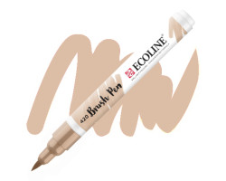 Ручка-кисть акварельная Ecoline Brush pen, № 420 Бежевый