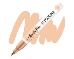 Ручка-кисть акварельная Ecoline Brush pen, № 374 Розово-бежевый