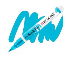 Ручка-кисть акварельная Ecoline Brush pen, № 551 Небесно-голубая светлая