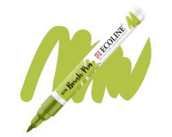 Ручка-кисть акварельная Ecoline Brush pen, № 676 Зеленый травяной