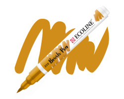 Ручка-кисть акварельная Ecoline Brush pen, № 259 Желтый песочный