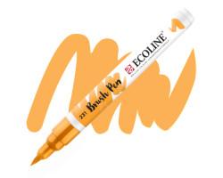 Ручка-кисть акварельная Ecoline Brush pen, № 231 Охра золотая