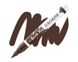 Ручка-кисть акварельная Ecoline Brush pen, № 440 Сепия темная