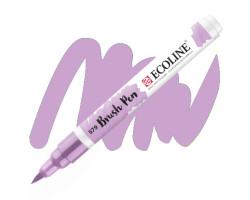 Ручка-кисть акварельная Ecoline Brush pen, № 579 Пастельный фиолетовый