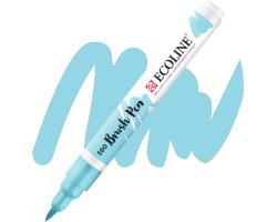 Ручка-кисть акварельная Ecoline Brush pen, № 580 Пастельный синий
