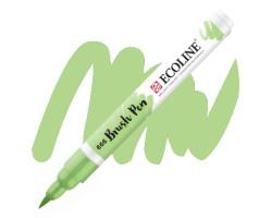 Ручка-кисть акварельная Ecoline Brush pen, № 666 Пастельный зеленый