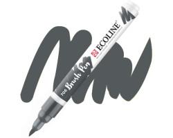 Ручка-кисть акварельная Ecoline Brush pen, № 706 Серый темный