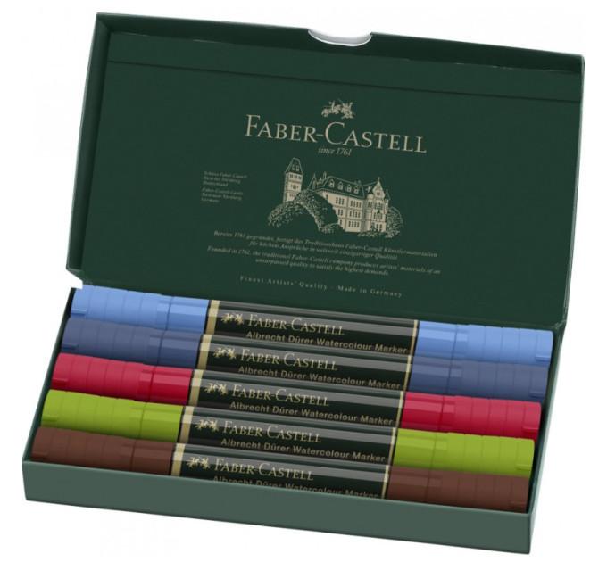 Акварельные маркеры Faber-Castell Albrecht Durer urban sketch 5 городской эскиз 160308