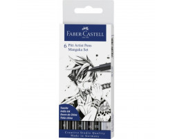 Набор Faber-Castell 167124 Mangaka 6 шт