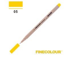 Линер Finecolour Liner на водной основе 005 темно-желтый EF300-05