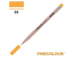Линер Finecolour Liner на водной основе 008 темно-желтый EF300-08