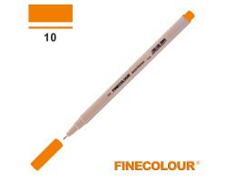 Линер Finecolour Liner на водной основе 010 светлый оранжевый EF300-10