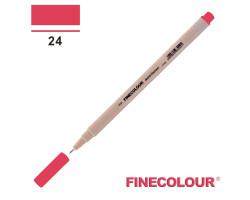 Линер Finecolour Liner на водной основе 024 бледновато-красный оттенок EF300-24