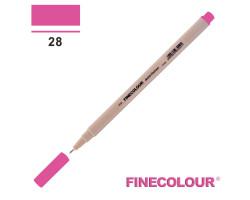 Линер Finecolour Liner на водной основе 028 насыщенный розовый EF300-28