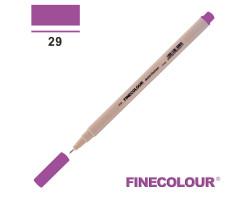 Линер Finecolour Liner на водной основе 029 темный сиреневый EF300-29