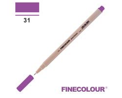 Линер Finecolour Liner на водной основе 031 фиолетовый EF300-31