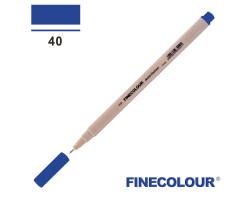 Линер Finecolour Liner на водной основе 040 ультрамарин EF300-40