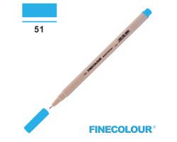 Линер Finecolour Liner на водной основе 051 голубой EF300-51