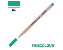 Линер Finecolour Liner на водной основе 064 изумрудно-зеленый EF300-64