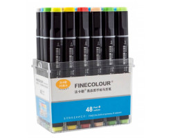 Набор маркеров Finecolour Brush 48 цветов EF102-TB48