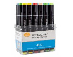 Набор маркеров Finecolour Brush 48 цветов EF102-TB48