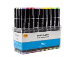 Набор маркеров Finecolour Brush 72 цвета EF102-TB72