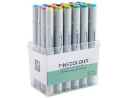 Набор маркеров Finecolour Junior 24 цвета EF101-TB24