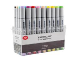 Набор маркеров Finecolour Sketchmarker 72 цвета EF100-TB72