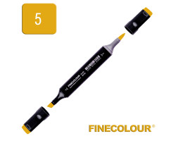 Маркер спиртовой Finecolour Brush 005 темно-желтый Y5
