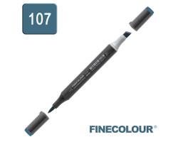 Маркер спиртовой Finecolour Brush-mini аквамарин BG107