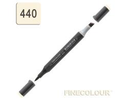 Маркер спиртовой Finecolour Brush-mini ванильный Y440