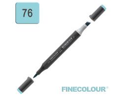 Маркер спиртовой Finecolour Brush-mini аква BG76
