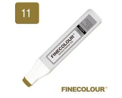Заправка для маркеров Finecolour Refill Ink 011 глубокая охра YG11