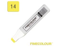 Заправка для маркеров Finecolour Refill Ink 014 лимонный зеленый YG14