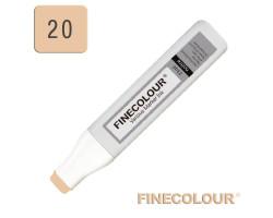 Заправка для маркеров Finecolour Refill Ink 020 коричнево-желтый E20