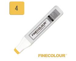 Заправка для маркеров Finecolour Refill Ink 004 желтый наполи Y4