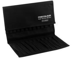 Пенал Finecolour для 24 маркеров пустой арт EF901-24EC