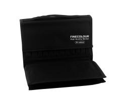 Пенал Finecolour для 36 маркеров пустой арт EF901-36EC