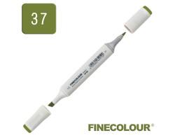 Маркер спиртовой Finecolour Sketchmarker 037 глубокий оливково-зеленый YG37