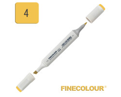 Маркер спиртовой Finecolour Sketchmarker 004 желтый наполи Y4