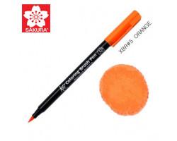 Маркер-кисточка акварельный KOI Sakura, Оранжевый №5