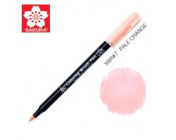 Маркер-кисточка акварельный KOI Sakura, Бледно-оранжевый №7