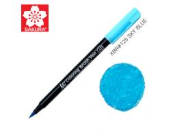 Маркер-кисточка акварельный KOI Sakura, Небесно-голубой №125