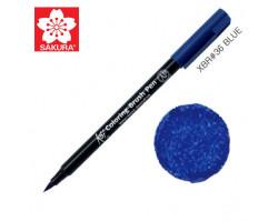 Маркер-кисточка акварельный KOI Sakura, Голубой №36