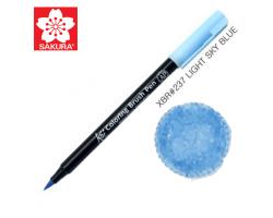 Маркер-кисточка акварельный KOI Sakura, Небесно-голубой светлый №237