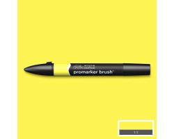 Маркер Winsor & Newton, Brushmarker, Лимонный Y747